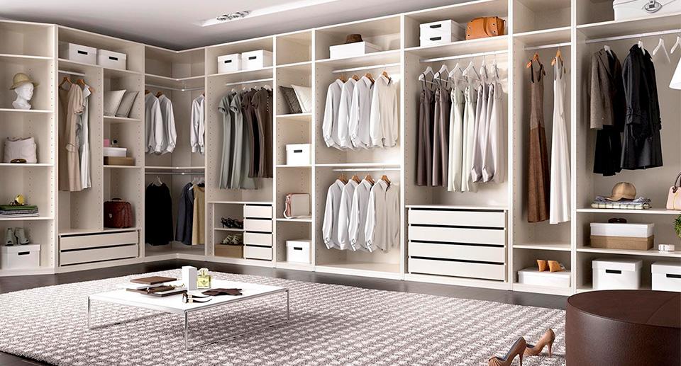 Vestidores krea tu spazio for Armarios elegantes
